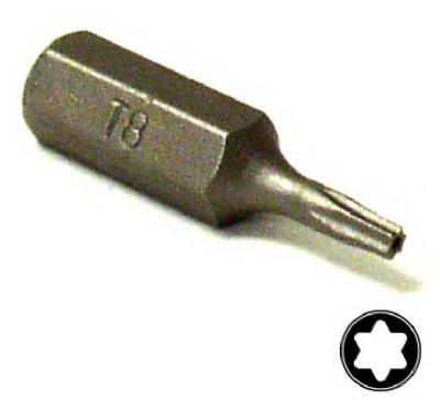 Eazypower 13240 T8 Security Tee*Star Isomax? 1-Inch Insert Bit - Quantity 6 - Isomax Insert