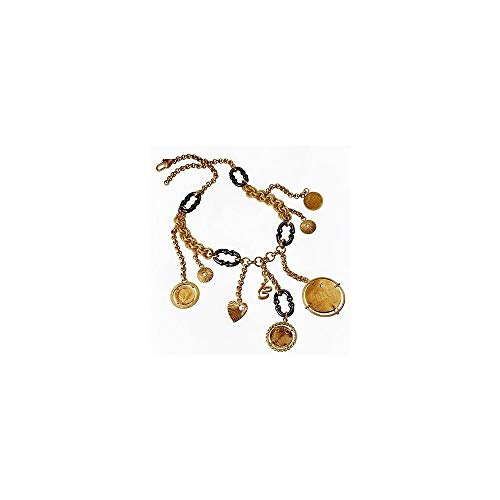 Dolce & Gabbana Gold Necklace - Dolce & Gabbana Jewels Necklace TOKEN DJ0479, Color: Gold-coloured, Size: One Size