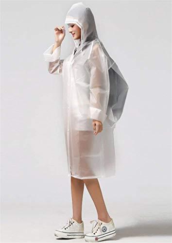 Jacket Bianca Raincoat Rainwear Bicycle Grazioso Rain Stlie Impermeabile Women Eva 5p4qAUz