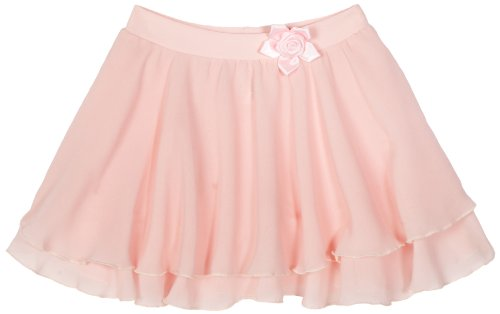Sansha Big Girls' Kristie Skirt, Pink ,Large(F)/10-12 (Sansha Skirt)