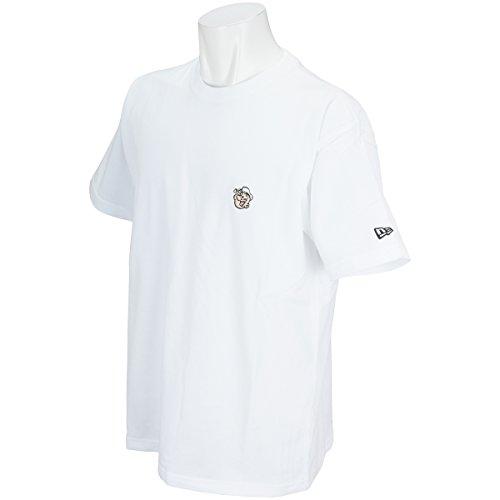 ニューエラ NEW ERA 半袖シャツ?ポロシャツ COTTON POPEYE FACE 半袖Tシャツ ホワイト L