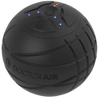 ドクターエア 3Dコンディショニングボール CB-01 | ストレッチボール 1分間で4,000回の振動 専用アシストカバー付き