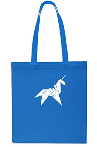 42cm Beach 10 Small Shopping litrest Sapphire Tote x38cm Gym Origami Bag Unicorn Navy wUHqff