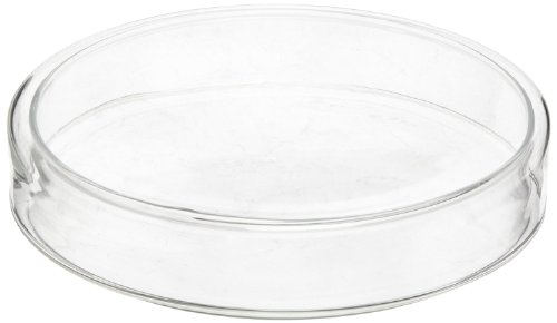 American Educational Flint Glass Culture Petri Dish, 98mm OD, 18mm Height (Bundle of 5)