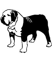 Bil Klistermärken Exteriör 15Cm X 17Cm Angielski Bull Dog Naklejka Samochodowa Auto Naklejka Wodoodporne Naklejki Przeciwsłoneczne Pvc