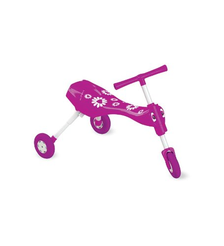 Indoor/Outdoor Pedal-Free Fleur Scuttlebug Trike