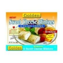 Golden Sweet Cheese Blintzes, 3 Ounce - 15 count per pack -- 6 packs per case. by Old Fashioned Kitchen