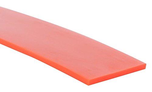 Orange 50 ft Length High-Performance Urethane Flat Belting 5//8 inch Width