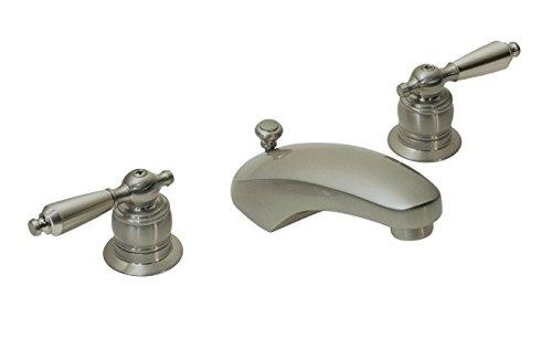 Symmons S-244-2-STN-LAM-1.5 Origins Widespread 2-Handle Bathroom Faucet in Satin Nickel (1.5 GPM)