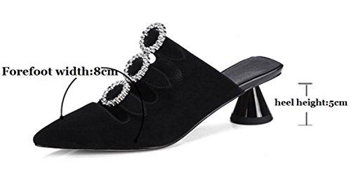 Sandaler Kvinder Diamant Medium Efterligning Hæl Fzhly wURfFqA