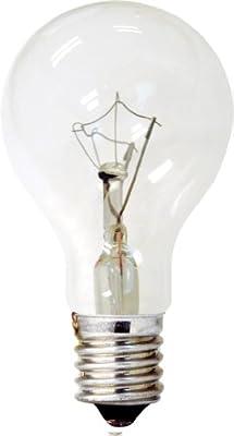 GE Lighting 74037 40-Watt 320-Lumen Decorative A15 Incandescent Light Bulb, Crystal Clear, 2-Pack