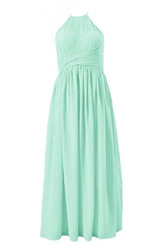 Long Dress mint Bridesmaid Dress Halter Dress 34 DaisyFormals BM1531A Party Evening POFxTOdw