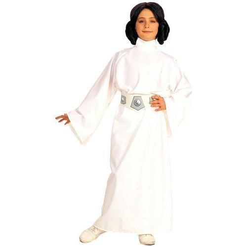 (Kid's Star Wars Princess Leia Costume (Size:Medium)