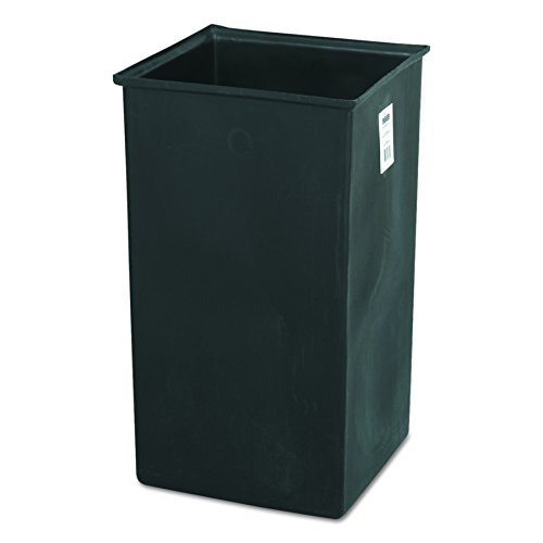 Safco Products 9669 Plastic Liner for 36-Gallon Trash Cans, sold separately, Black (Plastic Trash Receptacle)