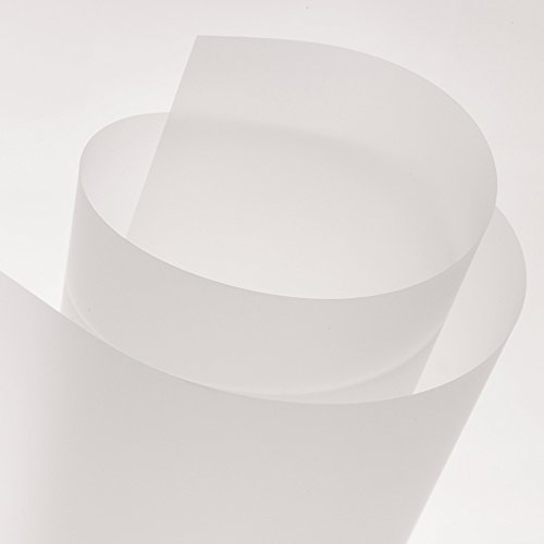 Canson 1.10 x 20 m 75 µ Translucent Mat Coated Polyester Film Roll by Canson (Image #2)