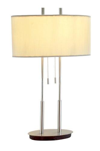 Adesso Round Table Lamp - Adesso 4015-22 Duet 27