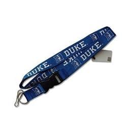 Duke Blue Devils Clip Lanyard Keychain Id Holder Ticket