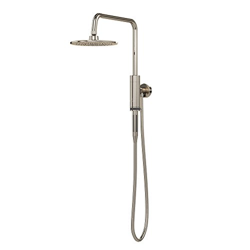 8in Showerhead (PULSE ShowerSpas 1052-BN Aquarius System with 8