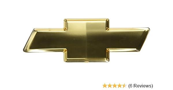General Motors 12335633 Gold Front Grille Emblem