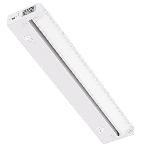 GetInLight Swivel 2-Color Level LED Under Cabinet Lighting Fixture, Dimmable, ETL Listed, Ultra Slim Design, Warm White…