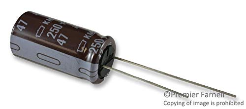 UNITED CHEMI-CON EKMG251ELL470MK25S CAPACITOR ALUM ELEC 47UF RADIAL 250V 20/% 1 piece