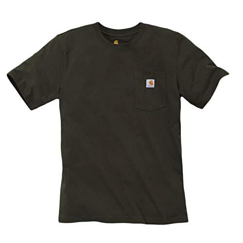 Carhartt S Workwear Baumwoll Pocket 306 shirt T Turf s rIArPqw