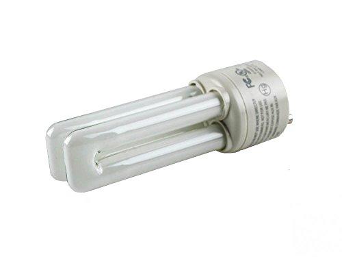 (TCP 13W Soft White Quad Double Twin Tube CFL Bulb, GU24 Base)