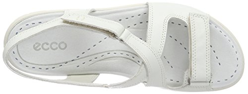 ECCO Footwear Womens Babett Cross Sandal Dress Sandal, Shadow White, 41 EU/10-10.5 M US Photo #2