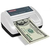 Semacon S-960 Cordless Automatic Currency Authenticator/Counterfeit Detector, All USD Banknotes Currency Types, Processing Speed Less Than 0.75 Seconds, Pinpoints Counterfeit Suspect US Banknotes, Rapid Pass/Fail Indication, Rechargeable Battery
