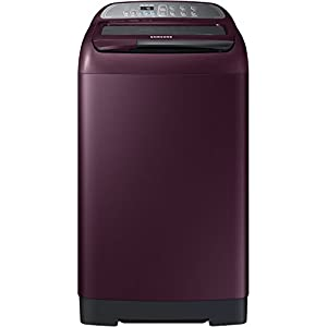 Samsung 7 kg Fully-Automatic Top Loading Washing Machine (WA70M4000HP/TL, Plum)