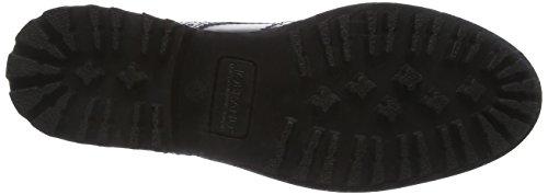 NOBRAND Viper, Zapatos de Cordones Derby para Mujer negro