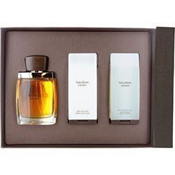 - VERA WANG by Vera Wang Cologne Gift Set for Men (EDT SPRAY 3.4 OZ & AFTERSHAVE BALM 3.4 OZ & HAIR AN