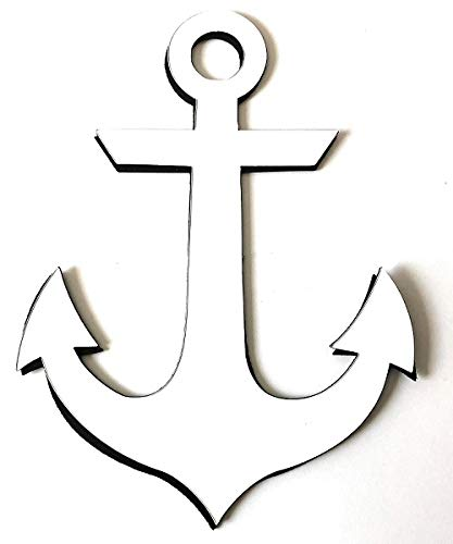 DCentral Anchor Screen Magnet: Double-Sided Decor; for Non-Retractable Screens, Multipurpose, Helps to Stop Walking into Screens, Covers Small tears in Screens. Size 4.5