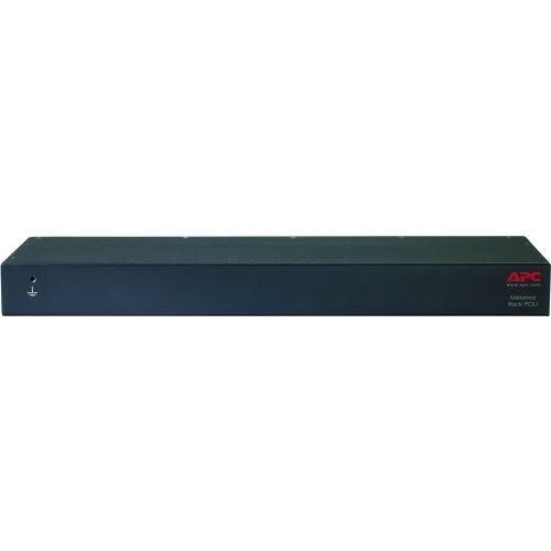 APC AP7821B Metered Rack PDU - Power Distribution Unit (Rack-mountable) - AC 100-240 V - Ethernet 10/100 - Input: IEC 60320 C20 - Output connectors: 8 (IEC 60320 C13) - 1U - 8 ft - Apc 8' Power Cords