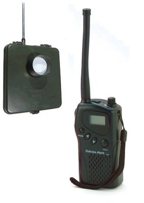 4-Mile Range MURS Driveway Alarm w/ Hand Held Radio