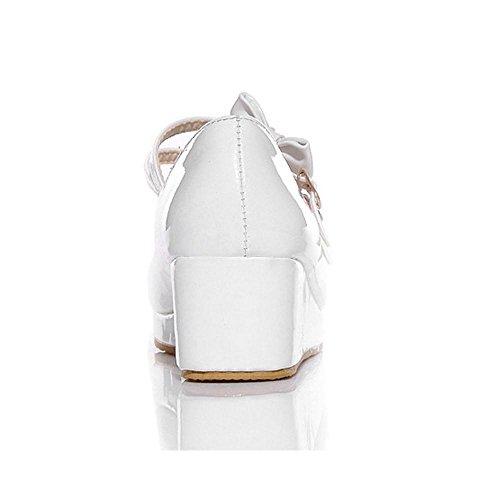 Coolcept Femmes Tricoter Plateforme Chaussures White-1 7cnKc23v9V