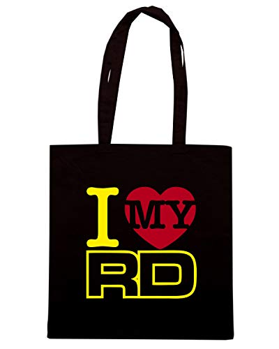 STROKE CLASSIQUE RD MY LOVE I Shopper TB0146 Borsa Nera MOTARD C0wxgRq0H