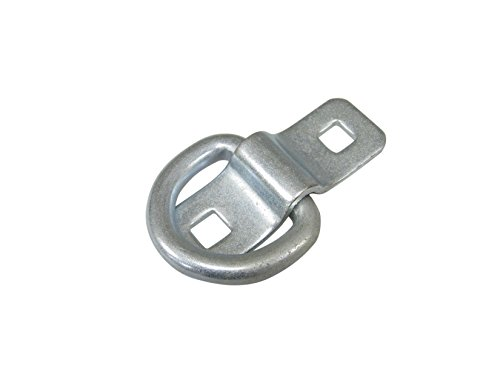 Progrip 822610 Truck Trailer Cargo Surface Mount Tie Down D Ring: Medium Duty (Pack of 1) by Progrip