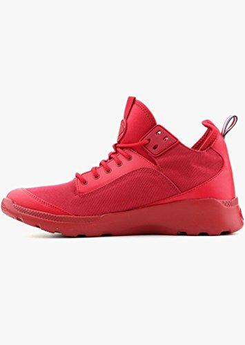 Palladium Hombre Desvilles Formadores, Rojo Rojo
