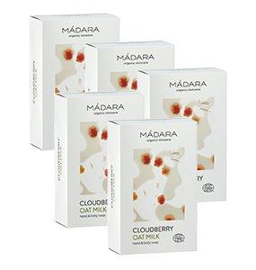 Cloudberry & - Jabón para manos y cuerpo de leche de avena, ...