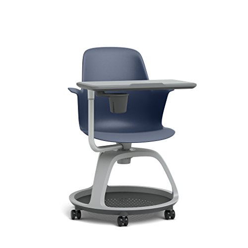 Steelcase Node Multipurpose Chair: Tripod Base - Standard Carpet Casters (Hook Node)