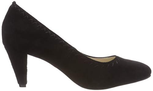 Black Hirschkogel 3006805 Closed Toe Women's Schwarz 002 Heels nqA1Zqx8