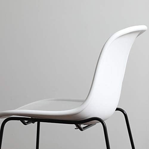 WANG LIQING Chaise, Chaise Moderne Minimaliste Moderne, Chaise Longue créative, Bureau, Salle à Manger, Café, Salon, Facile à Assembler et à Nettoyer