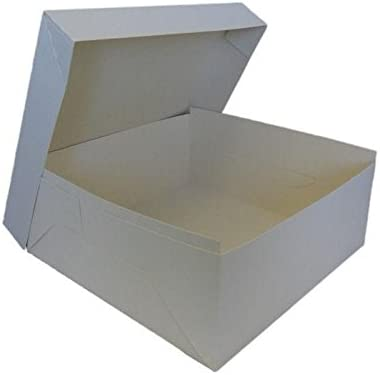 Caja para tartas (35 x 35 x 15 cm): Amazon.es: Hogar
