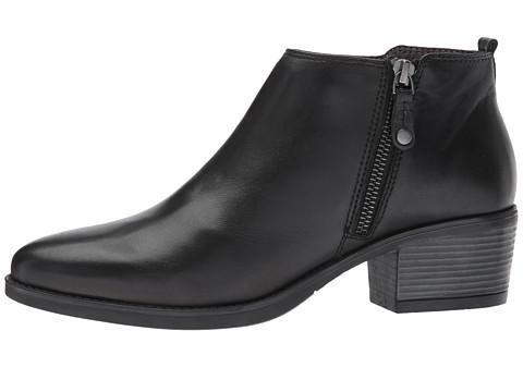 25011 Black Ankle Boot Black