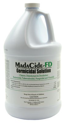 Madacide 1 Cleaner Disinfectant - (1 Gallon) MadaCide Disinfectant Cleaner FD Available in 1 Quart w/Spray Top or 1 Gallon