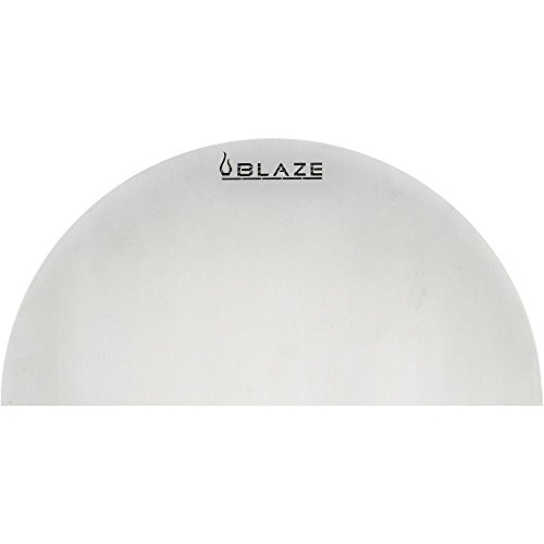 Blaze Stainless Steel Half Round Heat Deflection Plate (BLZ-KMDO-9HMSSP)