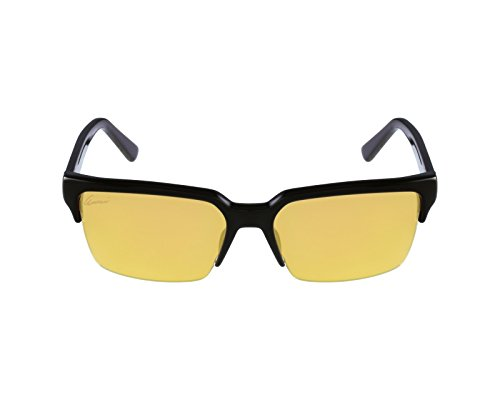 Gucci Sunglasses - 3710 / Frame: Black Crystal Yellow Lens: Gold - Mirror Gold Sunglasses Gucci