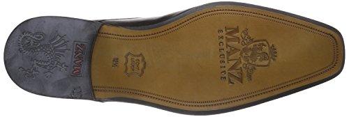 Manz Granada Ago - Zapatos de cordones derby Hombre Negro - Schwarz (schwarz 001)