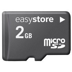 Free 2 Gb Card (EasyStore 2GB microSD Card (SDSDQES-002G Hassle Free Packaging))